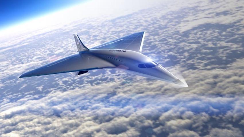 Presentan diseño de lo que sería nuevo avión supersónico