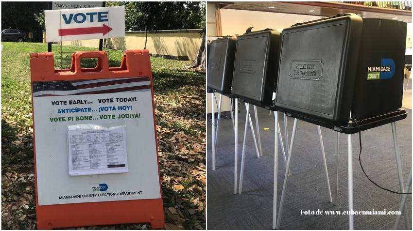 Inician las votaciones anticipadas para seleccionar al próximo alcalde de Miami Dade