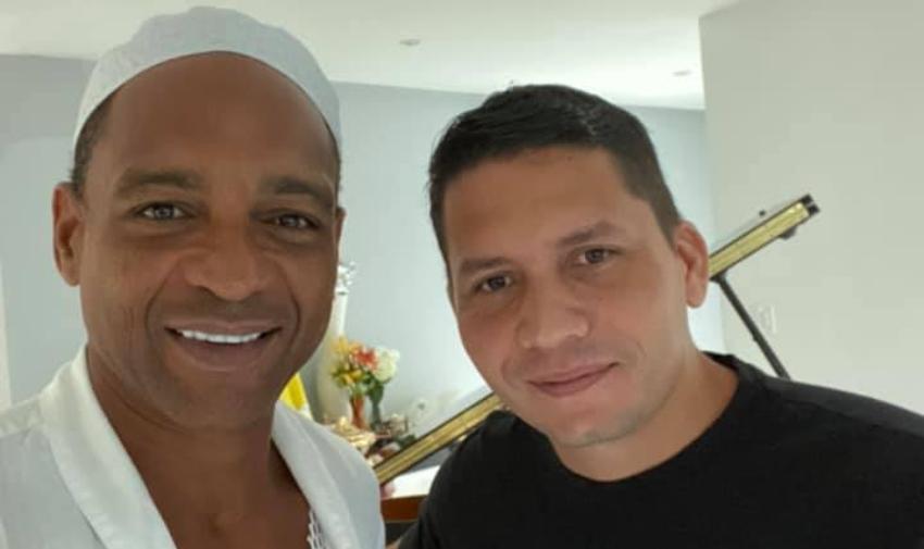 """""""Podemos tener nuestra Cuba de vuelta"""", asegura Descemer Bueno tras encuentro con el opositor Eliécer Ávila"""