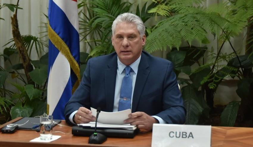 Asegura Díaz-Canel ante la ONU que el Covid-19 no tomó al Gobierno cubano desprevenido
