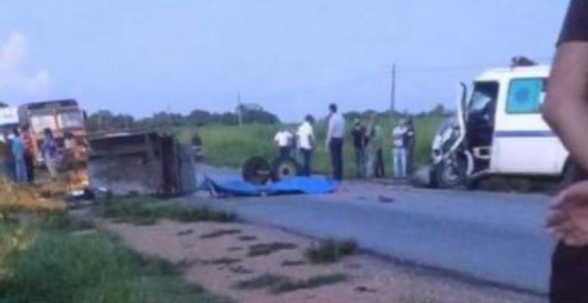 Una víctima fatal en un accidente en el municipio Palmiras, Cienfuegos
