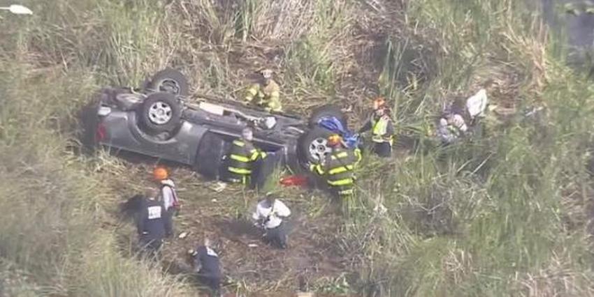 Encuentran niño de 1 año muerto en el agua después de aparatoso accidente en la I-75