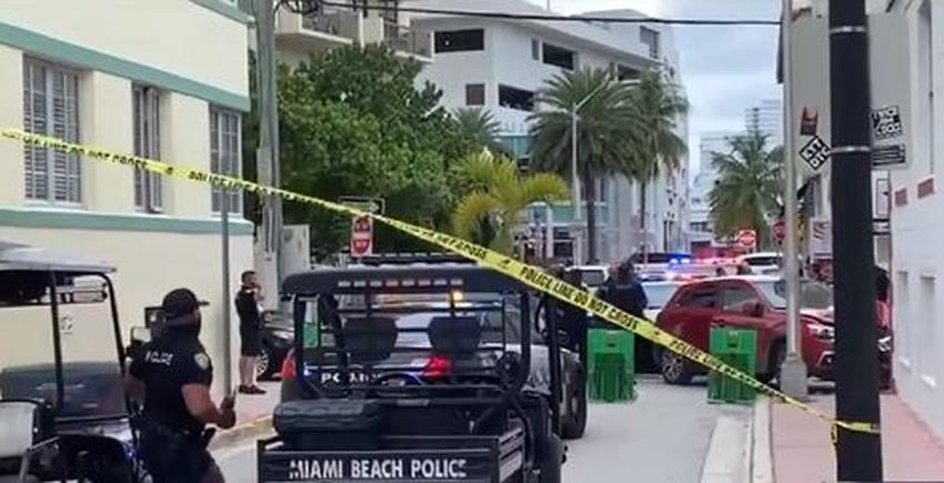Arrestan a un conductor que estrelló su auto contra un edificio en Miami Beach