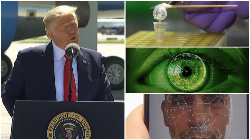 Administración Trump busca  recolectar ADN, huella de voz, reconocimiento facial y ocular de los inmigrantes que busquen la ciudadanía en Estados Unidos