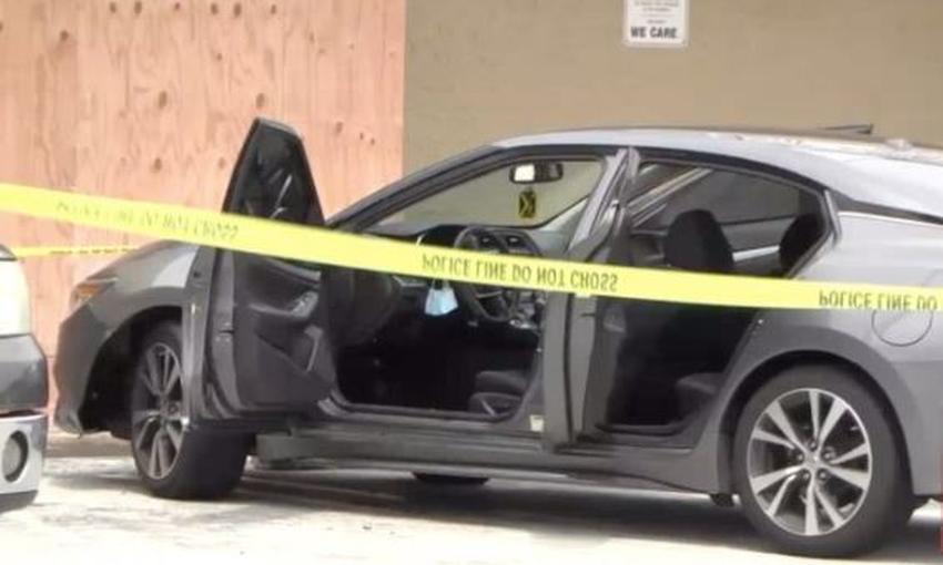 Policía de Miami investiga pelea entre dos hombres dentro de un auto; uno resultó herido de bala y el otro fue apuñalado