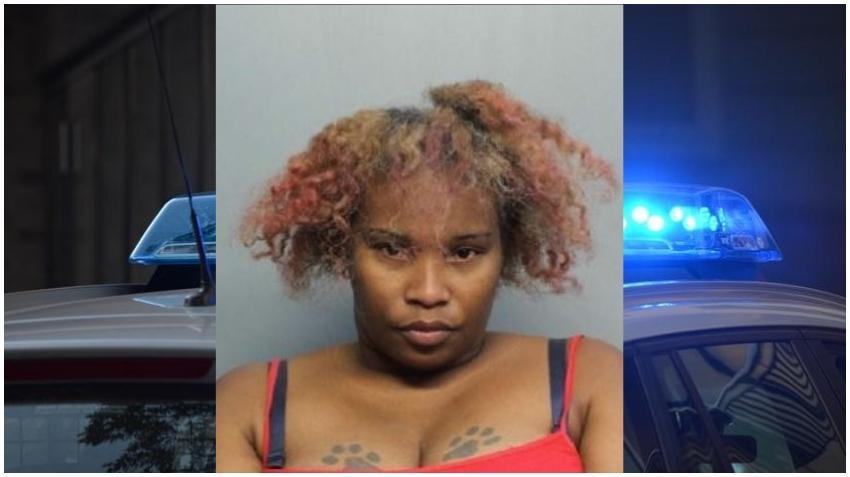 Mujer de Miami es arrestada por golpear a su hija hasta dejarla inconsciente por grabar directas en Instagram