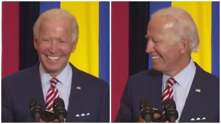 Candidato demócrata Joe Biden busca el voto hispano poniendo el tema Despacito en acto de campaña