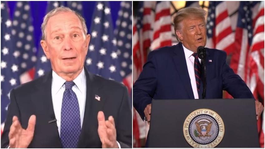 Multimillonario Bloomberg gastará 100 millones de dólares en Florida para ayudar a Biden derrotar a Trump en las elecciones