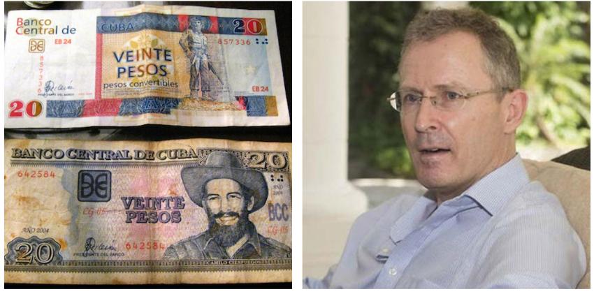 Llueven las críticas al embajador de Reino Unido en Cuba por hacerse ilusiones con la unificación monetaria