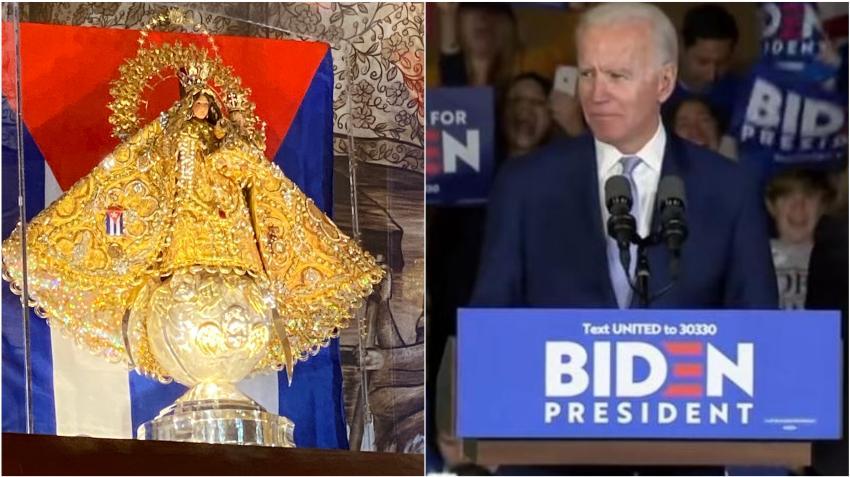 Candidato presidencial Joe Biden envía mensaje a los cubanos en el día de la Virgen de la Caridad del Cobre