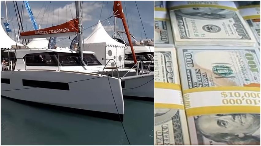 Dueño de negocio de Florida gasta fondos de ayuda federal del coronavirus en la compra de un catamarán