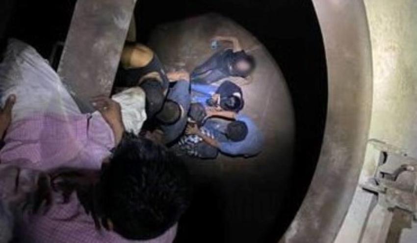 Emigrantes cubanos que viajaban en un vagón hermético fueron rescatados por la Patrulla Fronteriza de EEUU