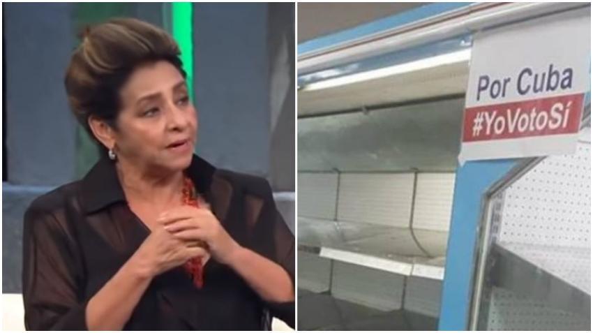 """Actriz cubana Daisy Granados arremete contra el bloqueo interno del gobierno de Cuba: """"El pueblo no merece esta escasez"""""""