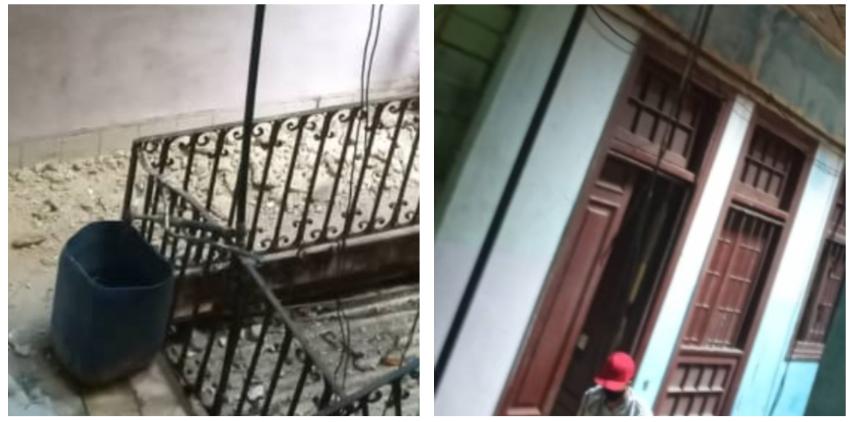 Otro derrumbe en La Habana Vieja deja a once familias en la calle
