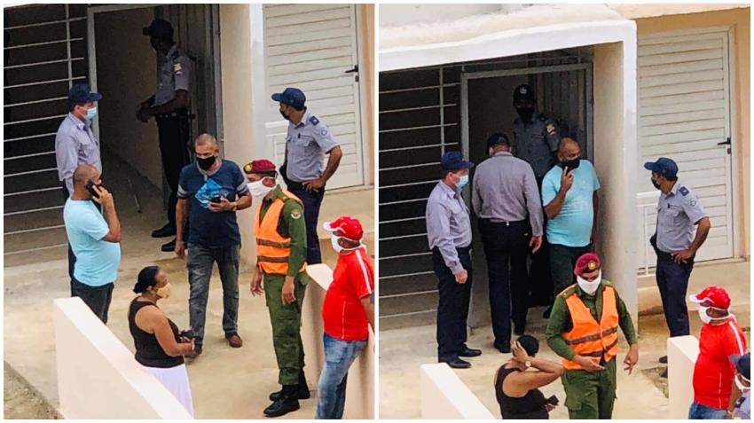 Madres cubanas sin hogar ocupan un edificio de oficiales del MININT y fueron desalojadas