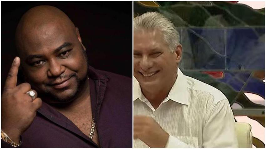 Díaz-Canel y varios funcionarios de la dictadura en Cuba salen en defensa del músico cubano Alexander Abreu