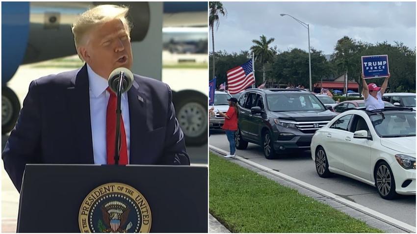 Presidente Trump visitará Miami el viernes para un evento buscando el voto latino