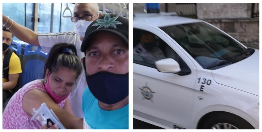 Patrulla de la policía en Cuba se niega a trasladar de emergencia al hospital a una joven embarazada