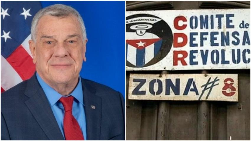 """A 60 años de creados los CDR, diplomático estadounidense dice que ha sido """"suficiente, el pueblo de Cuba merece algo mejor"""""""