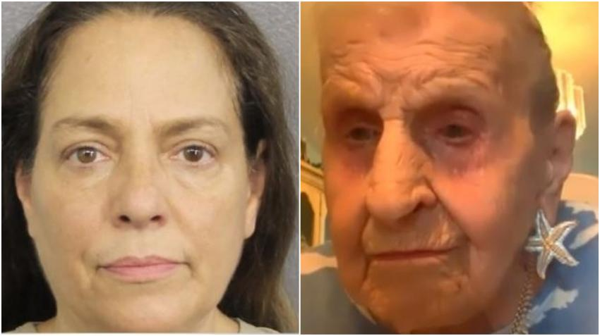 Acusan a mujer del sur de la Florida de robarle a una anciana de 100 años para pagar un abogado para su hijo preso