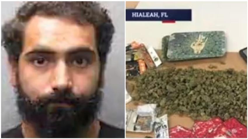 Arrestan a un hombre de Hialeah en los Cayos de la Florida con una gran cantidad de diferentes tipos de drogas en el auto
