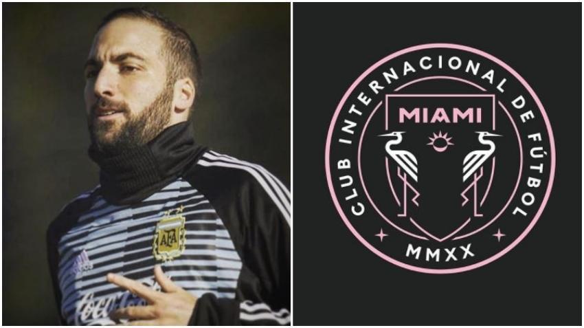 Estrella del fútbol argentino Gonzalo Higuaín ficha por el Inter Mami