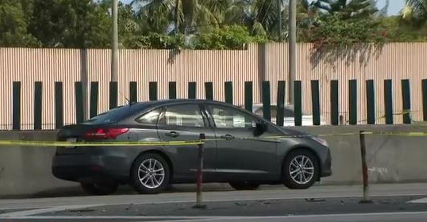 Un conductor recibe un disparo en la espalda desde otro vehículo mientras conducía por la I-95 llegando a Miami