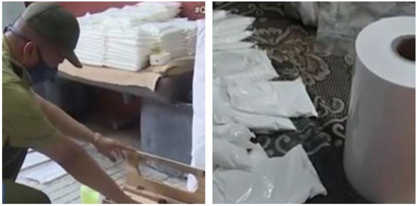 Policía en Cuba desarticula red ilegal de venta de leche en polvo y lo televisa