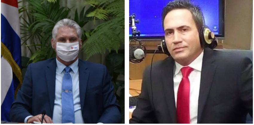 """Locutor cubano envía mensaje al régimen: """"Las tripas, gallinas """"decrépitas"""" y los restos se los comen ustedes"""""""
