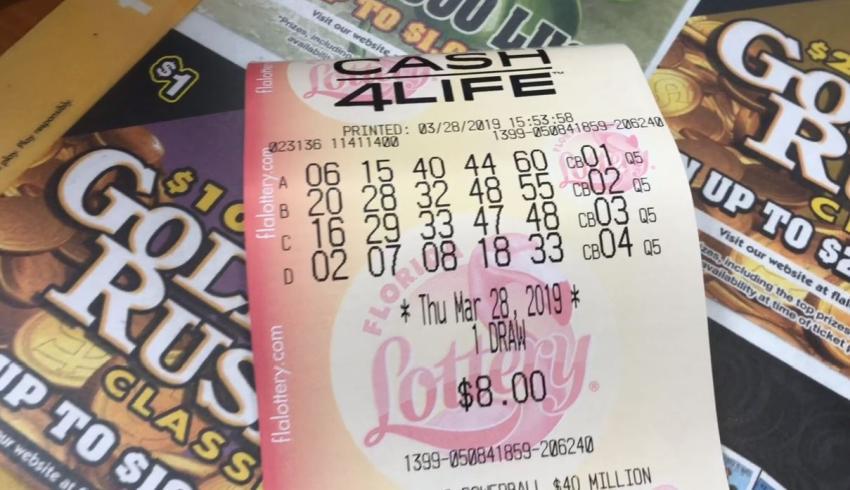 Un hombre del sur de la Florida gana $1000 a la semana de por vida con un ticket de la Lotería