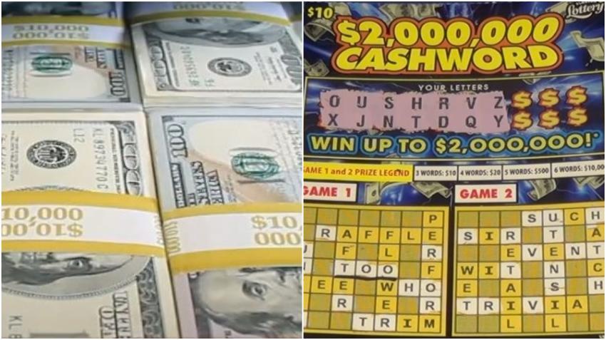 Mujer de Miami gana $2 millones con un raspadito de la lotería que compró en Publix