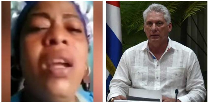 """Madre cubana explota en las redes: """" Díaz-Canel, mi hijo está reventado en sarna y no hay medicamentos"""""""