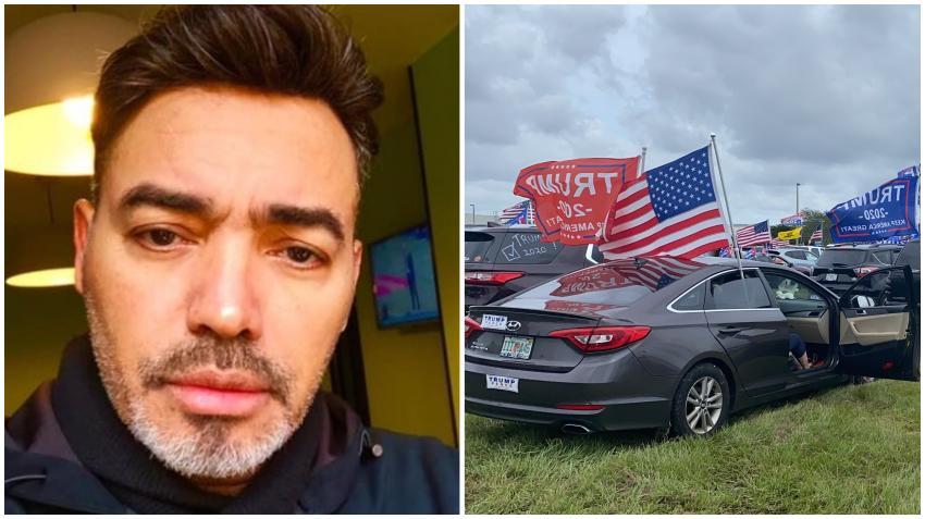 """Manolín arremete contra la caravana de cubanos por Trump en Miami: """"Fidel hizo un trabajo impecable"""""""