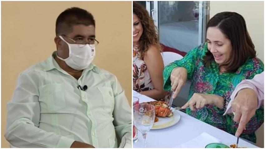 Ministro cubano asegura que si los cubanos se dan el lujo de comer langosta y camarones no podrían darle leche a los niños