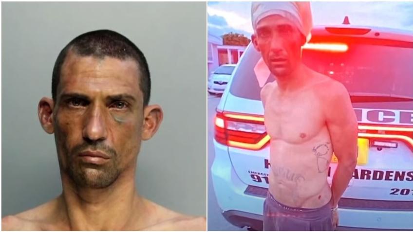 Arrestan a un cubano en Hialeah Gardens tras atacar con un bate a un hombre por negarse a comprarle un reloj