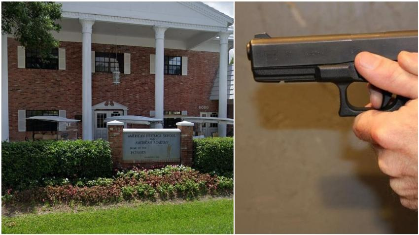 Adolescente del sur de la Florida que amenazó con disparar en una escuela es sometido a evaluación psicológica