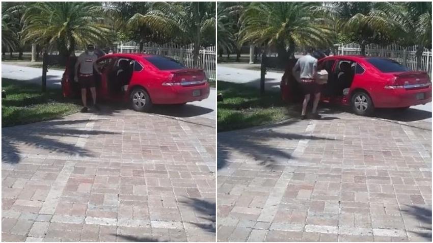 Tras las rejas joven que robó paquetes de los portales de 4 casas en el suroeste de Miami Dade