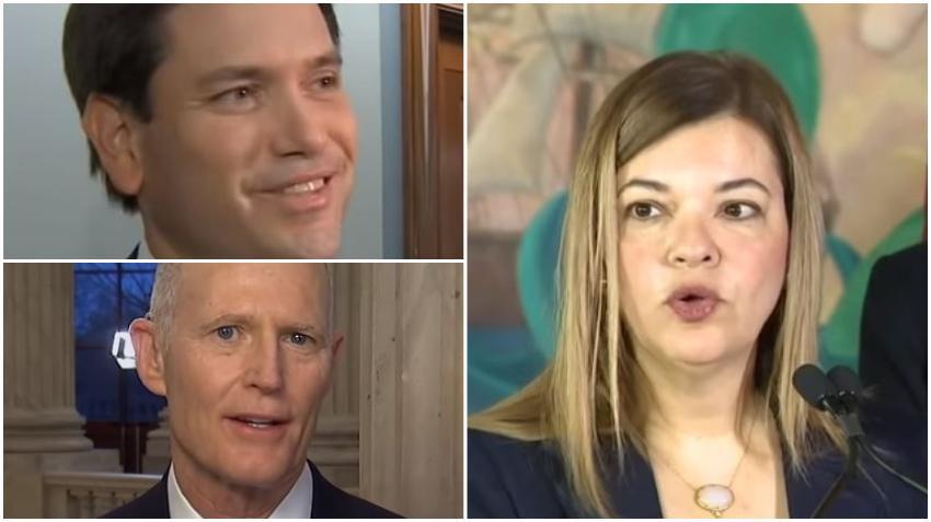 Senadores Marco Rubio y Rick Scott piden a Trump nominar a la cubanoamericana Barbara Lagoa a la Corte Suprema