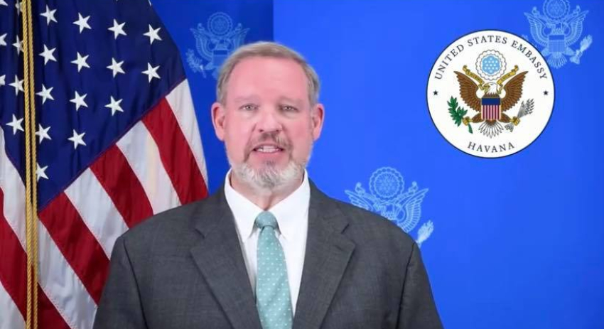 """Nuevo encargado de negocios de EEUU en La Habana dice estar convencido de que """"el futuro de Cuba será próspero"""""""