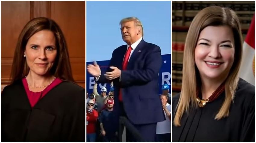 Trump no escoge a la jueza cubanoamericana de Hialeah, Barbara Lagoa, mientras se decide por Amy Barrett; según informes