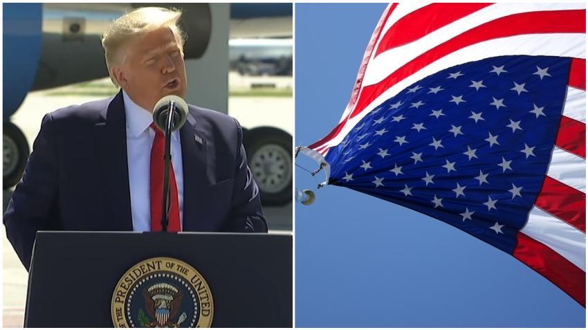 Presidente Trump quiere retomar la educación patriótica en las escuelas de Estados Unidos
