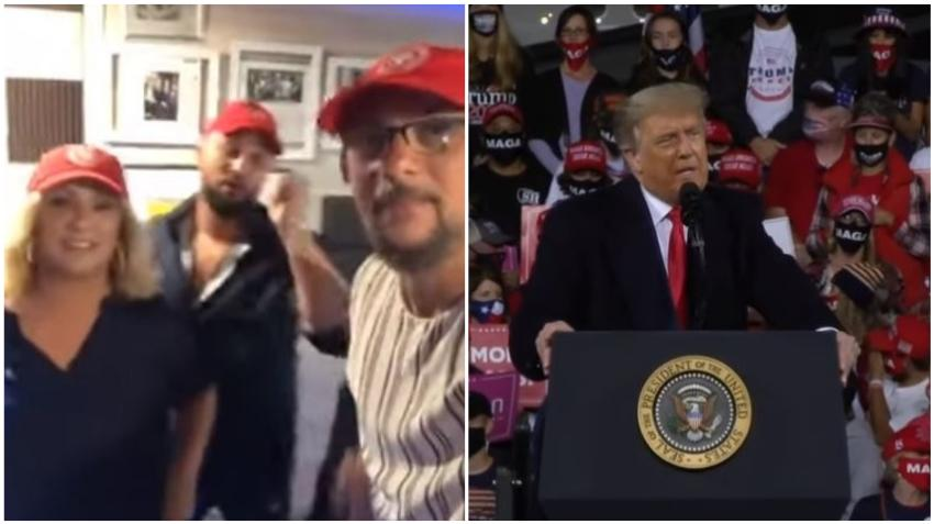 Campaña de Trump incluye versión en español de la canción de Los Tres de La Habana para anuncio buscando el voto hispano
