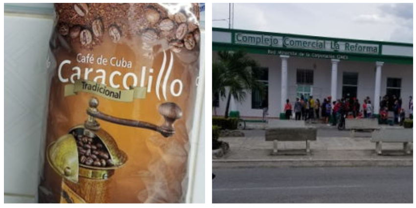 Puerto Padre: CIMEX vende en dólares café cubano que venció desde agosto