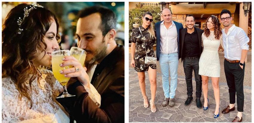El actor cubano Carlos Enrique Almirante celebra su boda en una íntima ceremonia en Las Vegas