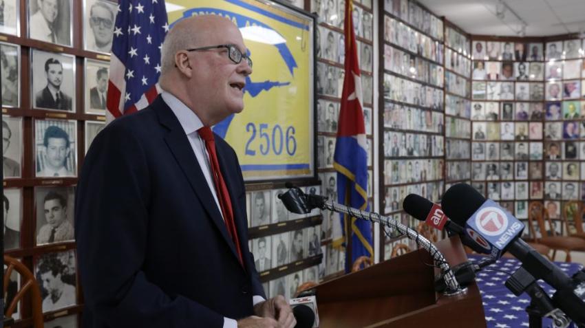 Exilio cubano invita a venezolanos y a nicaragüenses a unirse para crear un frente hemisférico contra el comunismo