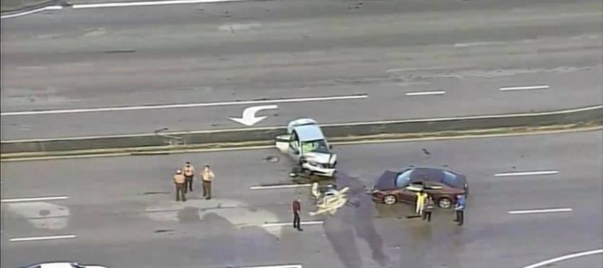 Aparatoso accidente al noroeste de Miami-Dade deja un fallecido