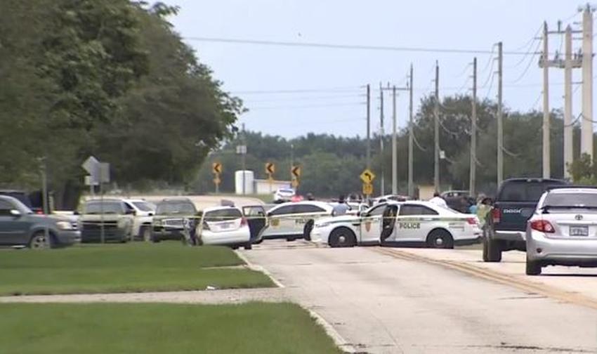 Policía que respondía a un tiroteo en el suroeste de Miami Dade choca con un vehículo dejando varios heridos
