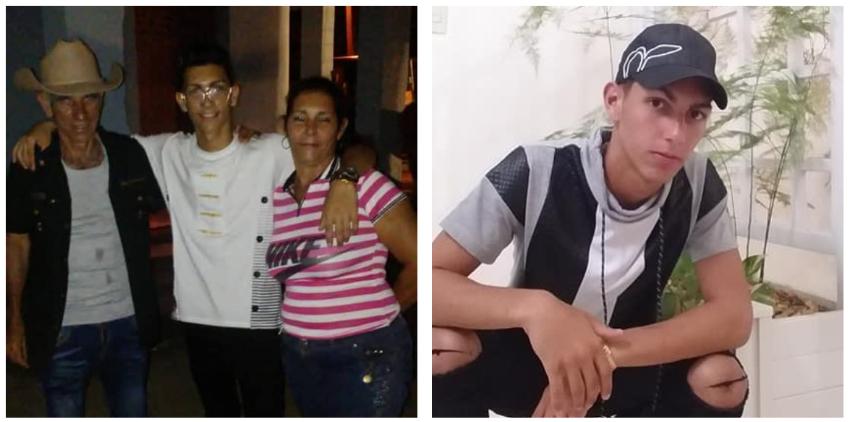 """Cubano en el primer aniversario de la muerte de su hijo de 17 años: """"A esta tiranía no le queda mucho"""""""