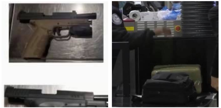 Notable aumento de viajeros con armas en aeropuertos de Florida