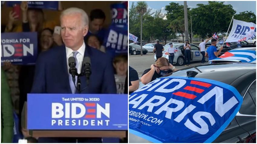 Candidato demócrata Joe Biden visitará hoy el Sur de la Florida; es la segunda visita en poco más de una semana